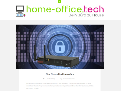 Home-Office Technik